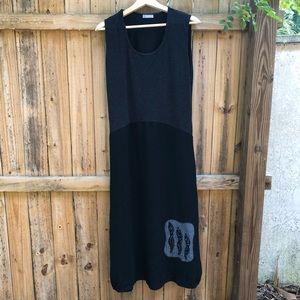 Naya Lagenlook Art To Wear Easy Dress Size 2